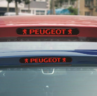 dekorative fensterleuchten großhandel-Freies Verschiffen Pulchritudinous 206 207 Bremsleuchten Aufkleber Peugeot Bremslicht Aufkleber Licht dekorative Aufkleber