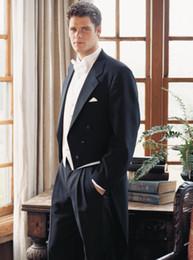 Men S Long Wedding Suit Australia - men formal wear suits groom wedding tuxedo long tail dress for 2017 custom made suit men