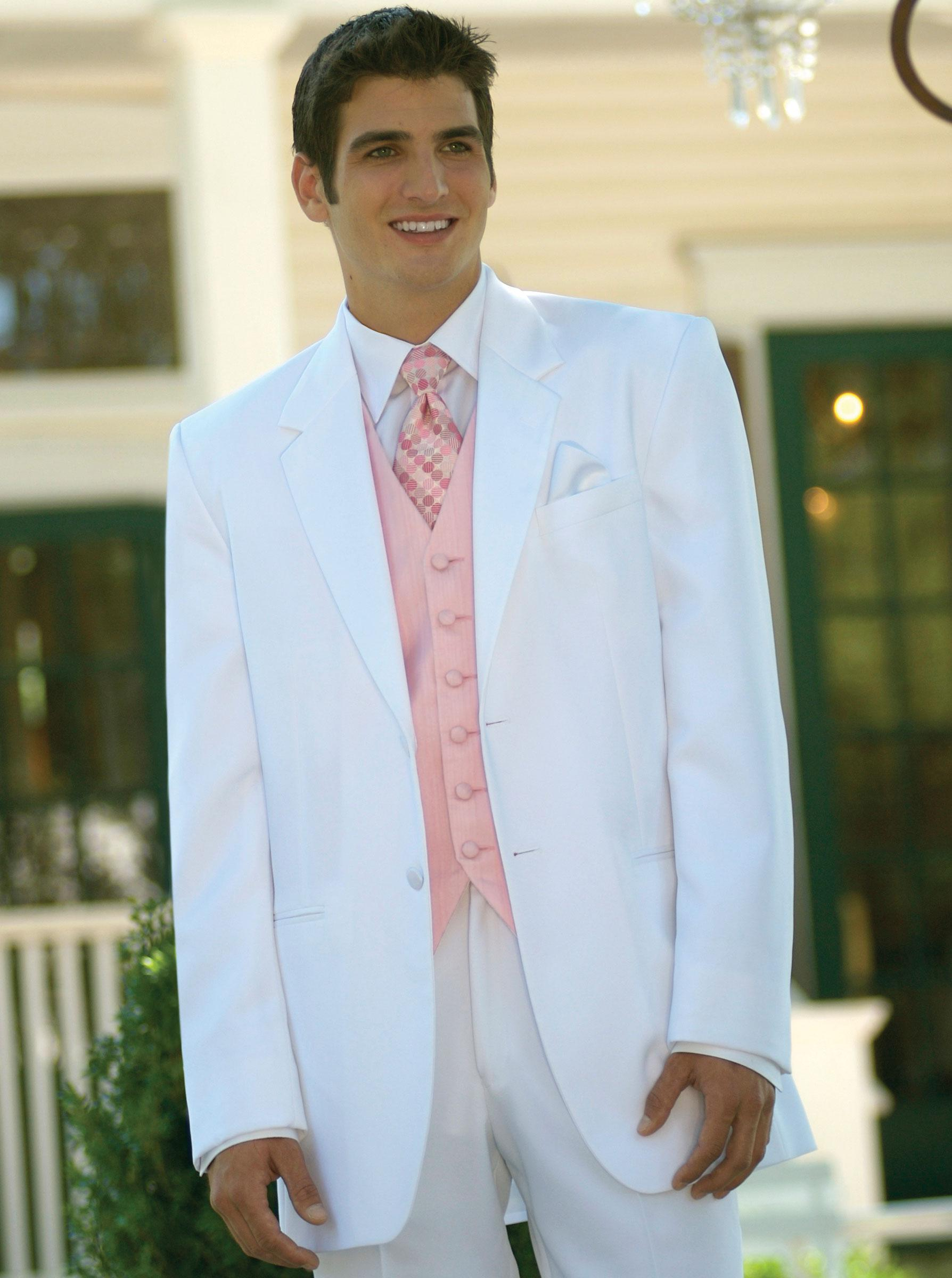 Mens Groom Wedding Suits Formal Wear 2017 Tailor Sit Slim Fit Men Tuxedo White Dinner