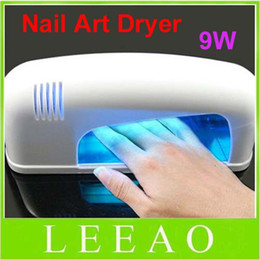 Lowest Price Best 15pcs Lot 9w White Professional Nail Art Gel CURING UV Lamp  Led Light Nail Dryer