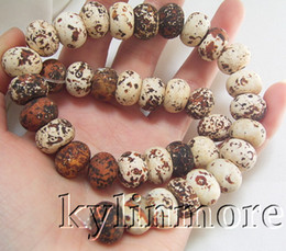 Wholesale 14mm Agate Beads - 8SE08151a 14mm Picture Jasper Rondelle Beads 15.5""