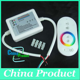 Wireless Touch Rgb Controller Canada - LED RGB DC 12-24V 18 Modes Wireless RF Remote Control Touch Panel Dimmer Remote Controller 000091
