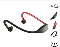 Wholesale Sport Mp3 Player Headsets - Sports mp3 player with FM radio wireless Headset Headphone Portable USB-TF Slot