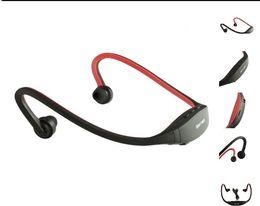 portable radio player headphones 2019 - Sports mp3 player with FM radio wireless Headset Headphone Portable USB-TF Slot