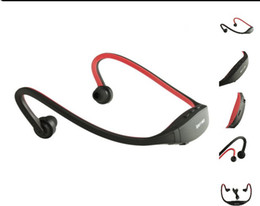 ebook mp3 player Promotion Lecteur mp3 sport avec radio FM sans fil Casque Casque Portable USB-TF Slot