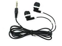 Wholesale earphone free fedex resale online - 1000pcs New Black mm Earbud headphone Earphone For MP3 Mp4 DHL FEDEX