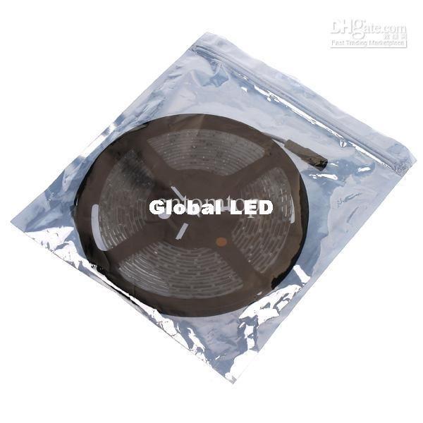 Warm White light 5M/roll Waterproof Epoxy led string SMD 3528 300 LED Strip Lighting H8331WW