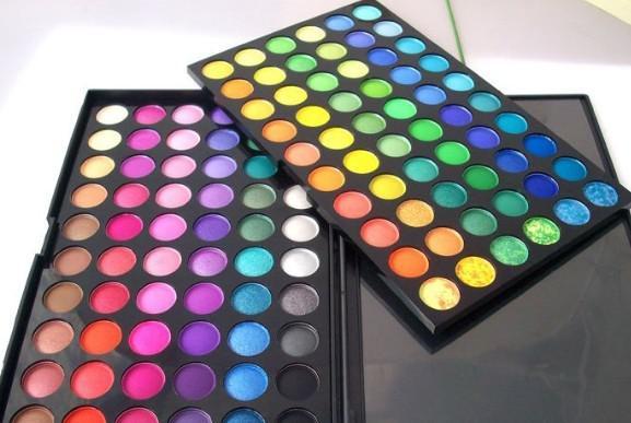 120 Colors Popfeel Eye Shadow Cosmetic Powder Nude