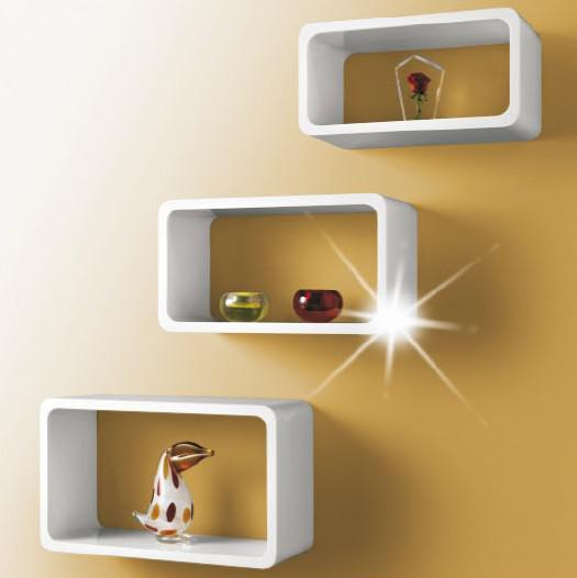 Decorative Wall Storage Cubes