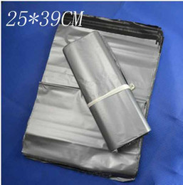 Wholesale Poly Bags 25 - 25*39CM Silvery Courier Bags Self-seal Mailbag Plastic Envelope Courier Postal Mailing Bags 9012