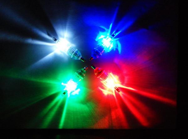 5 Adet / grup LED Mini Derin Bırak Sualtı Balıkçılık Kalamar Bait Lure işık lambası bas Işık Kırmızı Yanıp