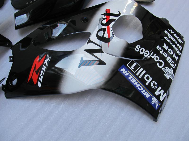WEST fairing kit FOR SUZUKI GSXR 600 750 1996 1997 1998 1999 2000 SRAD fairings GSXR600 GSXR750 96 97 98 99