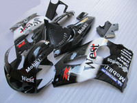 Wholesale 98 Gsxr Fairings - WEST fairing kit FOR SUZUKI GSXR 600 750 1996 1997 1998 1999 2000 SRAD fairings GSXR600 GSXR750 96 97 98 99