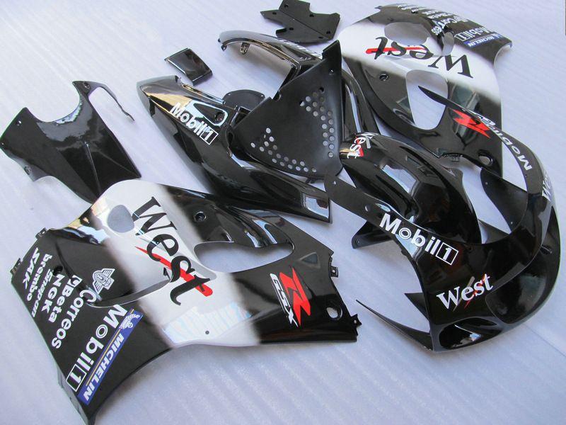 Kit de Feira Ocidental para Suzuki GSXR 600 750 1996 1997 1998 1999 2000 SRAD Feeterias GSXR600 GSXR750 96 97 99 99