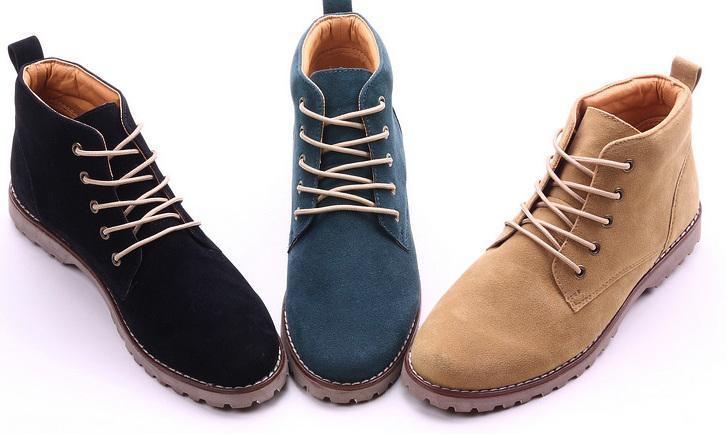 Fashion Men's Casual Shoes, Men's Shoes Korean Skateboard High ...