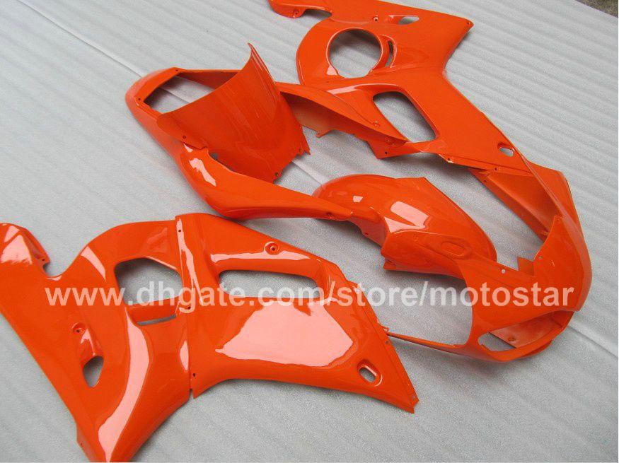 ヤマハR6 YZF-R6 98 99 00 01 02 YZF-R6 YZFR6 1998 1999 2000 2000 2002すべてオレンジ69M18