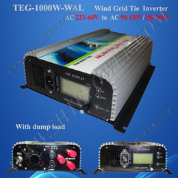 Wholesale Grid Tie Inverter Input - 1000W 1KW wind grid tie inverter (AC 3phase input)+dump load resister+dump load connection