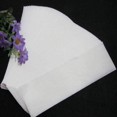 3Packs 100pcs/pack Hair Removal Depilatory Nonwoven Epilator Wax Strip Paper Roll Waxing