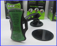 Wholesale Gripgo Car Mobile - Free shipping GripGo grip go hand frees mobile Iphone GPS car holder