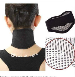 Wholesale Tourmaline Magnetic Neck Support - New 10 pcs Tourmaline Self Heating Magnetic Therapy Neck Wrap Belt Neck Self Heat Brace Neck Support