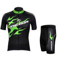 Wholesale Merida Green Cycling Jersey - cycling suit cycling jersey 2013 merida cycling wear short sleeve cycling shorts 2013 Merida cycling clothing cycling shorts and jersey