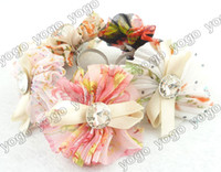 Wholesale Cheap Rhinestone Stretch Rings - Cheap 20X Fashion Silk Flower Bowknot Crystal Deco Stretch Rings, Mix Colors Bridesmaid Women Ladies Jewelry Accessories R41320