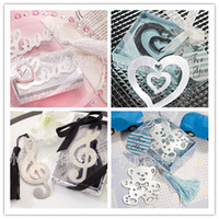 Wholesale Order Bookmarks Favors - Wedding gift bookmarks favors 10 different styles wedding favor bookmark mixed order