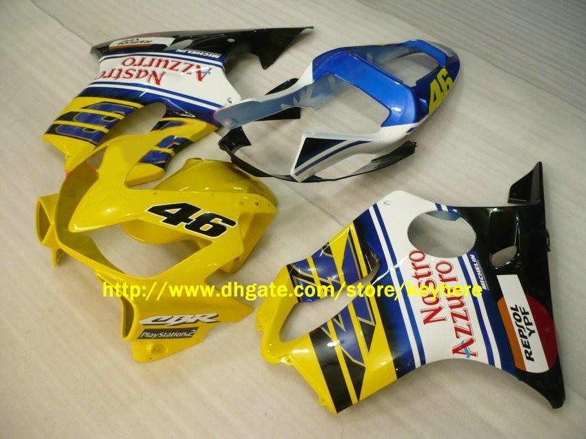 обтекатели для Honda CBRF4I CBR600 F4i 2001 2002 2003 01-03 Nastro Azzurro обтекатель мотоцикл кузов