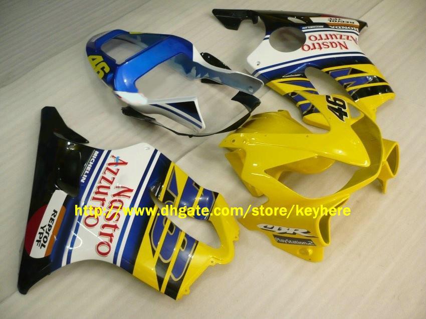 Fairings for Honda CBRF4I CBR600 F4I 2001 2002 2003 01-03 Nastro Azzurro Fairing Motocycle Bodywork