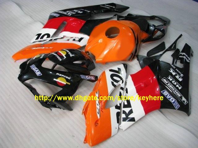 Für HONDA CBR1000RR 2004 2005 CBR 1000 RR 04 05 Repsol Verkleidungssatz, Motorradkarosserie