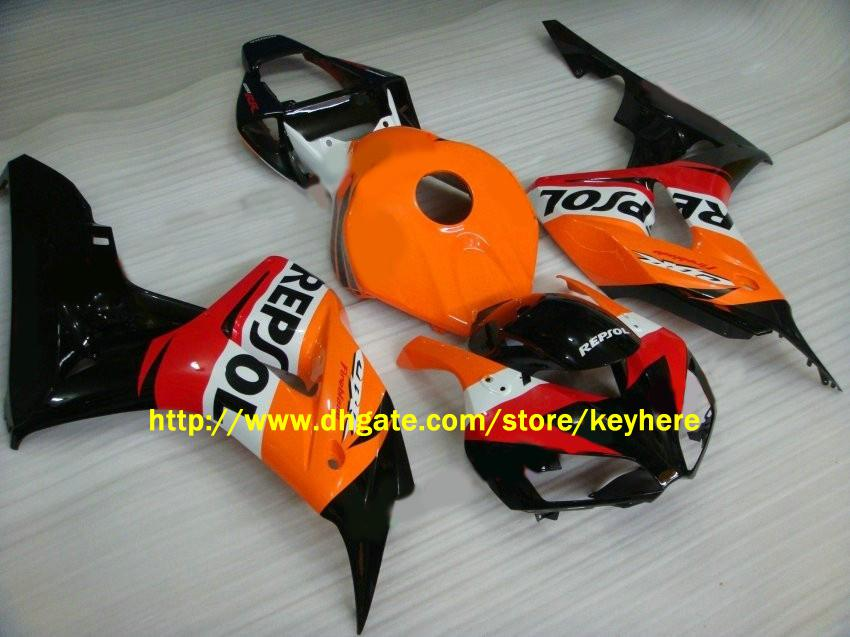 H1650注入Repsol FairingsキットCBR 1000RR 2006 2007 CBR1000 RR 06-07フェアリングボディキット