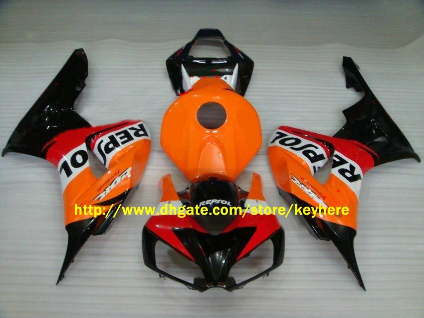 H1650 Injection REPSOL FAIRINGS kit for CBR 1000RR 2006 2007 CBR1000 RR 06-07 Fairings body kits