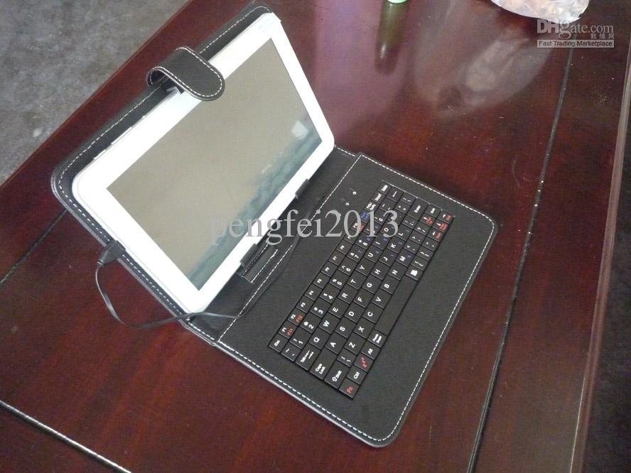 Capa de teclado para tablet de 9 polegadas PC Sanei N91 / AMPE A96