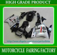 körper kundenspezifische cbr großhandel-Silberne Körper-kundenspezifische Rennverkleidungsausrüstung für Honda CBR600 F3 1995 1996 CBR 600 F3 CBR-600 F3 95 96 RX2c