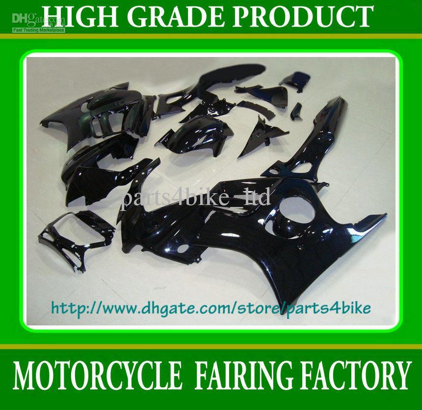 جميع الأسود مخصص سباق هدية طقم لهوندا CBR600 F3 1997 1998 CBR 600 F3 CBR-600 F3 97 98 RX3a