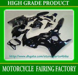 2019 honda cbr f3 gewohnheit ALLE schwarzen kundenspezifischen Rennverkleidungssatz für Honda CBR600 F3 1997 1998 CBR 600 F3 CBR-600 F3 97 98 RX3a