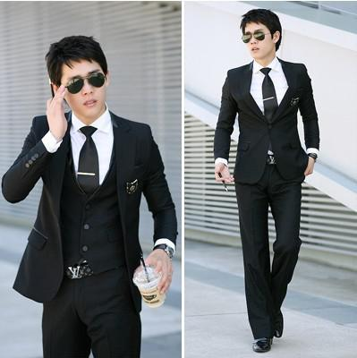2017 Wheasale Mens Suits Top Design Business Fitted Wedding Dress ...
