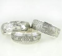 Wholesale Tibet Tibetan - 2013 New Tibetan Tibet Silver Totem Bangle Cuff Bracelet Cuff Jewelry ZM1