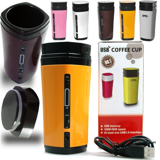 office coffee cups. rechargeable automatic stirring magnetic water warmer heat usb coffee cup office christmas gift cups