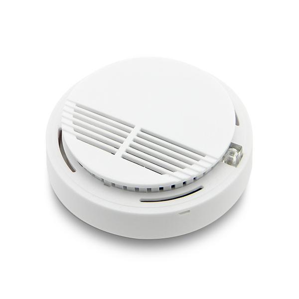 Wireless Fire Smoke Detector Sensor For GSM/PSTN Security Auto Dial Burglar Alarm System