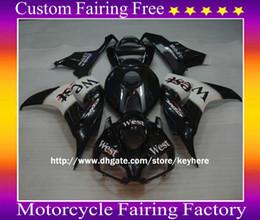 $enCountryForm.capitalKeyWord Australia - Custom West race moto Fairing Kit for HONDA CBR1000RR 2006 2007 CBR 1000RR 06 07,motocycle body work