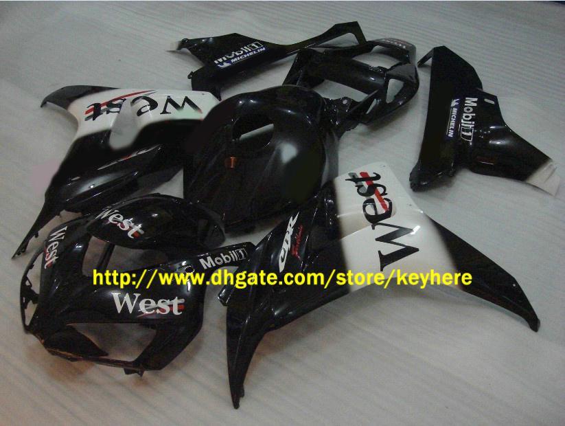 주문형 서부 레이스 모토 혼다 용 CBR1000RR 2006 2007 CBR 1000RR 06 07 페어링 키트, motocycle body work