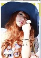Wholesale Dayan Mao - The Hawaii style beach straw hat Dayan Mao Sunscreen large straw hat sun hat