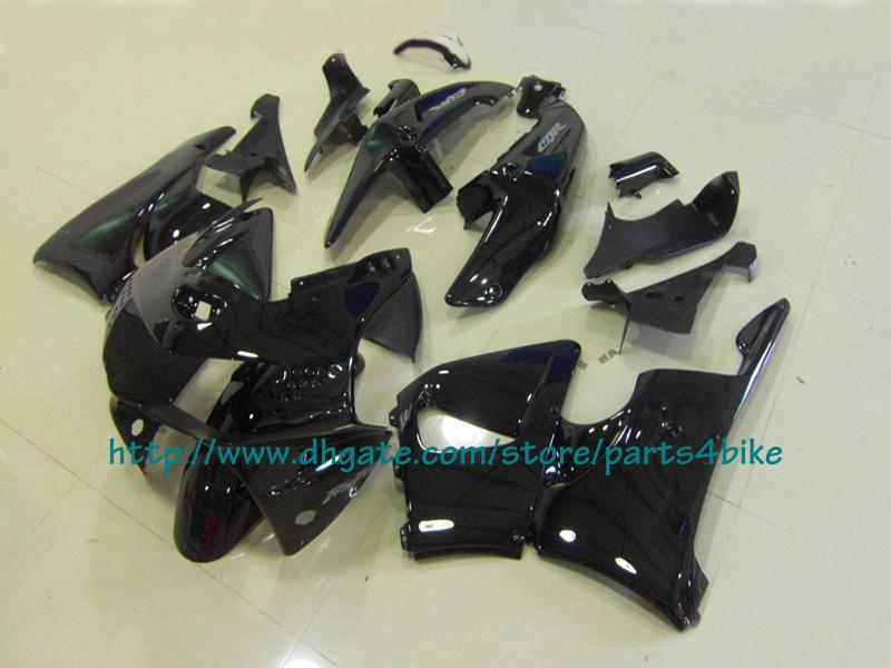Kit de carénage de course tout corps noir pour Honda CBR900RR 98 99 1998 1999 carénage CBR 900RR 919 RX2b