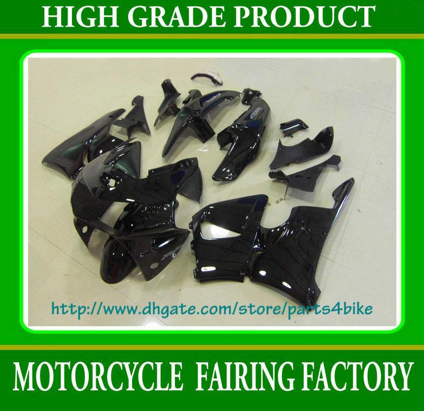 Hot Kit carenature carrozzeria nero Honda CBR900RR 98 99 1998 1999 carene CBR 900RR 919 RX2b