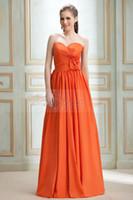 Wholesale Taffeta Empire Waist Bridesmaid Dresses - 2013 Custom Attractive Flower Empire Waist A-line Sweetheart Floor-Length Nadya's Bridesmaid Dress