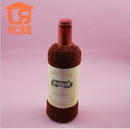 Wholesale Towel Favors Weddings - Wedding favors cute wedding party gifts 100% cotton embroidery red wine towel