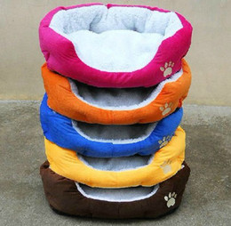 Wholesale Cheap Dogs Beds - new arrival cheap 5 color softy warm 5pc lot comfortable pet dog cat M size sweet house bed pad