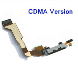 $enCountryForm.capitalKeyWord NZ - Tail Connector Charger Flex Cable iPhone 4 CDMA Data Dock Charging Port Connector With Flex Cable