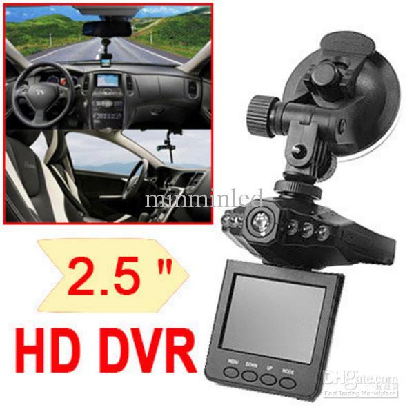 H198 Video Camera Recorder Car Dvr Vehicle Camera Camcorder 2 5